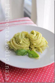 bavette cremose alle zucchine  (use google translate for recipe)