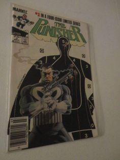 Vintage Marvel Comic Book the Punisher Vol 1 No. 3 March 1986 find me at www.dandeepop.com