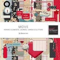 Move Bundle by Marisa Lerin   Pixel Scrapper digital scrapbooking