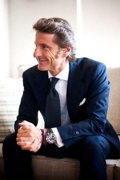 Stephen Winkelmann, possibly the best dressed CEO outside those in fashion business.