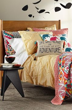 Hell with the duvet, I want that adventure pillow!