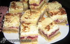 Szlovák ünnepi túrós sütemény Tiramisu, French Toast, Cooking Recipes, Baking, Breakfast, Sweet, Ethnic Recipes, Food, Morning Coffee