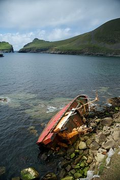 St. Kilda in the Outer Hebrides, via Flickr.
