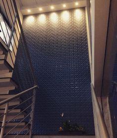 Estrela Jeans - Wall Color Collection no Showroom da Nova Arte Atibaia @ceramicaportinari  #decor #novaarteacabamentos #novaartebrasil #ceramicaportinari