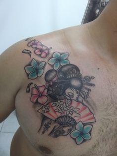 geisha tattoo, tattoo  https://www.facebook.com/bodrumalibabatattoo