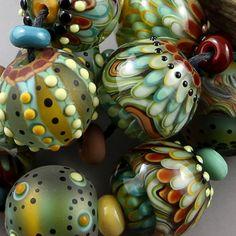 Magma Beads Wood Elves Handmade Lampwork Beads | eBay