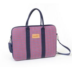 Handmade with love Purses And Bags, Gym Bag, Popular, Stylish, Handmade, Accessories, Fashion, Gingham, Moda