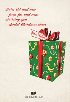 Christmas Stories Back Cover by Calsidyrose, via Flickr