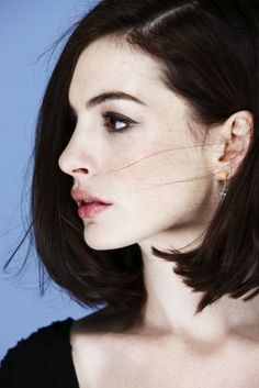 Anne Hathaway by Nigel Parry.