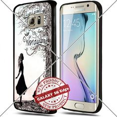 Samsung Galaxy S6 Edge Alice in Wonderland Art Drawing Cell Phone Case Shock-Absorbing TPU Cases Durable Bumper Cover Frame Black Lucky_case26 http://www.amazon.com/dp/B018KOR6C2/ref=cm_sw_r_pi_dp_dA8vwb0Y73ZE2