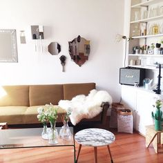 Our new sweet home ❣ #SweetHome #Paris #Déco #Interieur #CaCommenceAPrendreForme