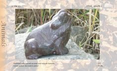 Natural Stone/Marble Garden Frog