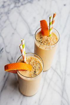 Toasted Coconut Creamsicle Smoothie