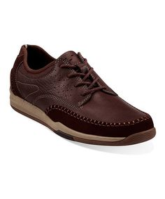 Take a look at this Brown Watkins Track Shoe - Men by Clarks on #zulily today! Just got these for my hubby today and they have more for the ladies also.
