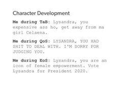 Lysandra be bae
