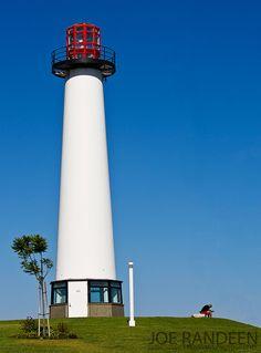 Long Beach Harbor Lighthouse, California, USA.