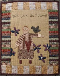 """ Dont Pick The Flowers"" 