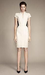 #ScanlanandTheodore #whitedress #dress #blackshoes #fashion #melbournedesigner