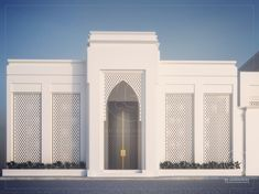 design exterior india Majles by RDE Majles Village House Design, Kerala House Design, House Front Design, Mosque Architecture, Concept Architecture, Modern Architecture, Villa Design, Facade Design, Le Riad