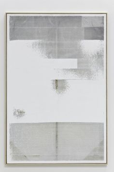 julianminima:  Hugh Scott Douglass Untitled, 2011 Laser cut on gessoed linen 60 x 40 inche