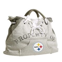 I've been wanting to make a bag out of some of my old, shrunken hoodies.  Michigan State, Detroit Tigers, or Detroit Lions.  =)  I will make this... soon!