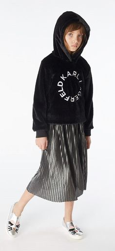 Karl Lagerfeld FW 19/20 Karl Lagerfeld Kids, Girls, Style, Toddler Girls, Swag, Daughters, Maids, Outfits