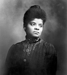 "Ida Bell Wells-Barnett (July 16, 1862 – March 25, 1931) was an African American sociologist, civil rights leader and a women's rights leader active in the Woman Suffrage Movement.  ""Brave men do not gather by thousands to torture and murder a single individual, so gagged and bound he cannot make even feeble resistance or defence….."".  ""If this work can contribute in any way toward proving this, and at the same time arouse the conscience of the American people to a demand for jus"