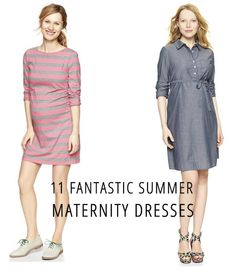 11 Fantastic Summer Maternity Dresses - Babble Inspiration and direct links to buy #summerbaby #pregnancy