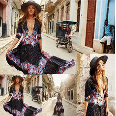 Vestido de verano vestido de Fiesta mujeres Sexy largo Maxi Boho noche Vestidos de Playa Solera | Ropa, calzado y accesorios, Ropa para mujer, Vestidos | eBay!