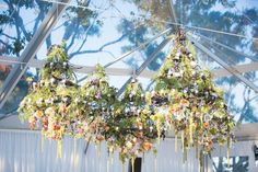 Need some floral inspiration for your upcoming event? Here are some examples of suspended installation compositions that we have designed for events in the past. Call us today for a consultation at 617-482-6272 #theworldofmarchalldesign #eventdesign #floraldesign #flowers #luxurywedding #suspendedinstallations