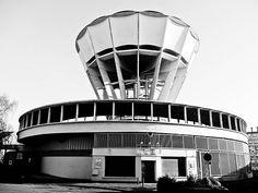 Château d'eau (water tower) of Guérinière (Caen), Guillaume Gillet, 1955-57