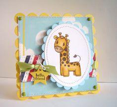Alice Wertz: Alice's {Little} Wonderland – Gordie the Giraffe & rejects - Paperworks: Gordie the Giraffe).  (Pin#1: Animals.  Pin+: Babies...; Coloring Layouts).