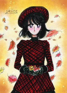 hotaru tomoe - Fall days by zelldinchit on DeviantArt