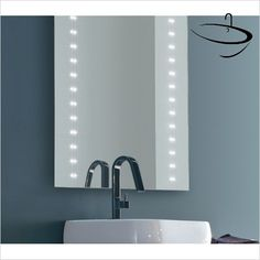 Bathroom Origins Mirrors - Bathroom Origins Brightstar Mirror 90 LED - 60x90cm