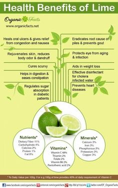 #Health benefits of #lime ORGANIC World #benefits #healthtips