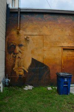 Darwin street art... The best kind...