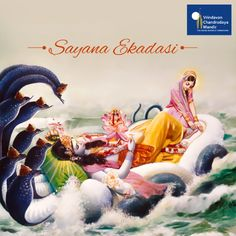 It is believed that Lord Vishnu goes to sleep after this Ekadasi. Read more about it here -
