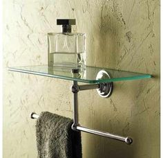 Nice shelf - could hold spare hand towels or fragrance sticks