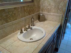 Bathroom With Schluter shower systems Schluter Shower, Shower Systems, Sink, Honey, Bathroom, Home Decor, Sink Tops, Washroom, Vessel Sink