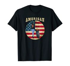 Amazon.com: Patriotic American Biker Girl, American Flag Motorcycle T-Shirt: Clothing