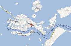 Découvrez les lieux cités par Dan Brown dans le chapitre 70 du livre Inferno: Riva degli Schiavoni, Murano, isola di San Pietro, l'aéroport Marco-Polo...