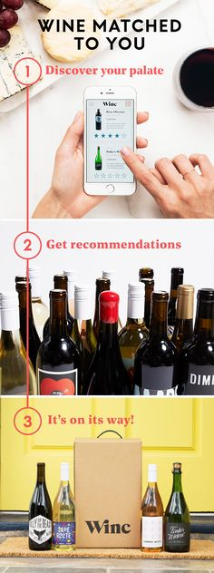Discover Winc - great wine, great prices. Start smiling because there's wine at your door.