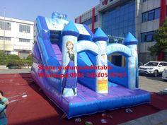 [ 6% Off ] Factory direct inflatable castle slides large obstacles Animal  slide castle combination Ice and Snow Margin slide  KY-705