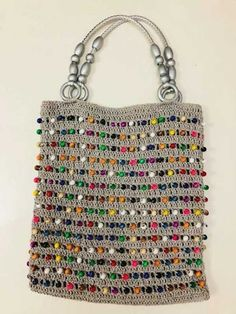 Marvelous Crochet A Shell Stitch Purse Bag Ideas. Wonderful Crochet A Shell Stitch Purse Bag Ideas. Crochet Handbags, Crochet Purses, Crochet Bags, Crochet Clothes, Pop Tab Purse, Knitting Patterns, Embroidery Bags, Beaded Bags, Bag Patterns