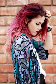 Ombre hair.... Maybe I might go for it one day
