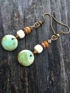 Boho Earrings Hippie Earrings Gypsy Earrings by BeachBohoJewelry