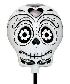 Another great find on #zulily! Black Solar Sugar Skull Garden Stake #zulilyfinds