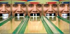 BOWL-O-BAMA -- Want to knock his teeth out? A bowling alley in Clearwater, Florida, Bowl-O-Bama, is doing record business despite a bad economy. The alley also reported a record number of 300 games. Since opening in November 2010, 963 patrons have bowled a perfect game , including strikes in the warm-up frames. This alley also has the highest bowling league average in the country, with a 237. And that's the senior league.