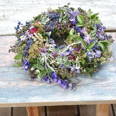 Natur decor, dried flowers wreath Dried Flowers, Floral Wreath, Wreaths, Home Decor, Flower Preservation, Floral Crown, Decoration Home, Door Wreaths, Room Decor