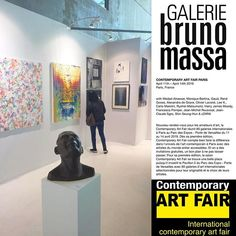 The is open! My artwork is exhibited with Galerie Bruno Massa from April to Let me know if you want some entry tickets April April, France, Claude, Paris, Art Fair, Contemporary Art, Sculpture, Let It Be, Friends